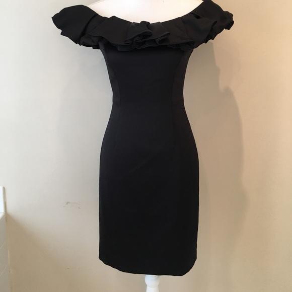 666a7141869 Antonio Melani Black Cocktail Dress